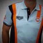 Gulf Racing Pro Poloshirt gulfblue