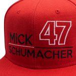 Mick Schumacher Cap 47 rot