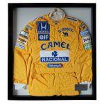 Tuta da Corsa 1987 Ayrton Senna edizione limitata