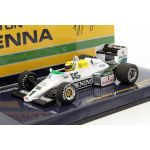 Ayrton Senna Williams Ford FW08C #1 Donington Park Test Formel 1 1983 front view