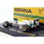 Ayrton Senna Williams Ford FW08C #1 Donington Park Test Formel 1 1983 backside