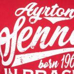 Ayrton Senna T-Shirt Born in Brasil