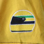 Ayrton Senna T-Shirt Racing detail 3