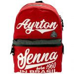 Ayrton Senna Backpack red Original 1960