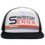 Ayrton Senna Cap World Champion 1988 McLaren
