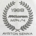 Ayrton Senna Damen T-Shirt World Champion 1988 McLaren