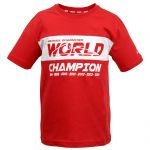 Michael Schumacher Kids T-Shirt World Champion rot