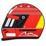 Michael Schumacher Aimant Frigo Casque 2000