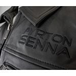 Ayrton Senna Lederjacke McLaren Three Times World Champion