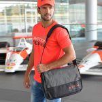 Ayrton Senna Messenger Bag McLaren