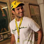 Ayrton Senna T-Shirt Interlagos Tracklines model 2