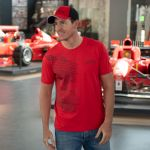 Michael Schumacher T-Shirt Fan Sport rot