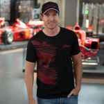 Michael Schumacher T-Shirt Fan Sport schwarz