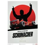 Ferrari F1-2000 - Michael Schumacher - Japan - Suzuka GP - Poster