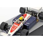 Ayrton Senna Toleman TG184 #19 3er GP del Reino Unido Fórmula 1 1984 1/43