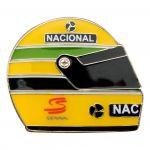 Ayrton Senna Pin Helmet 1990