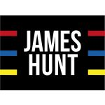 James Hunt Flagge Helm 1976