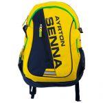 Ayrton Senna Backpack Helmet front