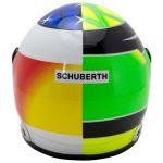 Mick Schumacher Miniaturhelm Belgien Spa 2017 1:2