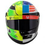 Mick Schumacher Miniatur Replica-Helm SPA 2017 in 1:2
