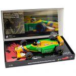 Michael Schumacher Benetton Ford B192 Ganador del GP de Bélgica 1992 1:18