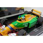 Michael Schumacher Benetton Ford B192 Belgian GP Winner 1992 1:18