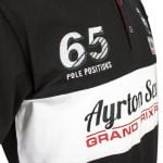 Ayrton Senna Polo-Shirt Grand Prix Racer