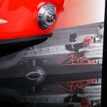 Michael Schumacher Wandbild Halber Helm 2012 finale Edition