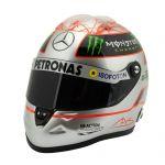 Michael Schumacher Platinum Helmet Spa 300th GP 2012 1/2