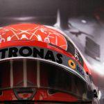 Michael Schumacher visiera da parete con visiera casco originale 2012 edizione final