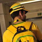 Ayrton Senna Cap Senna Helmet model 2