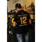 Poloshirt Ayrton Senna Classic Team Lotus model back