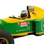 Michael Schumacher Benetton Ford B193B Vincitrice del GP del Portogallo 1992 1/18