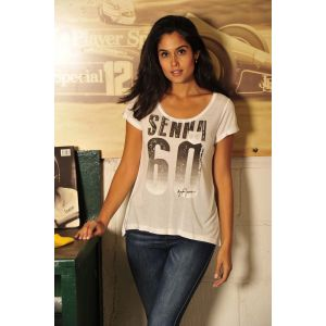 Ayrton Senna Ladies T-Shirt 60 Model