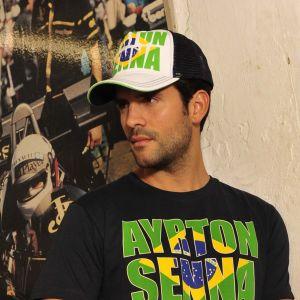Ayrton Senna Cap Brazil model