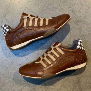 Gulf Racing Sneaker Cognac