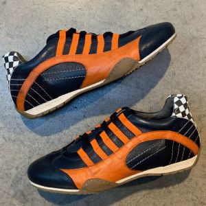 Gulf Racing Sneaker Indigo-orange