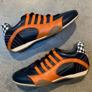 Gulf Racing Sneaker Lady Indigo orange