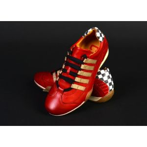 Gulf Racing Sneaker Mujer Corso Rosso