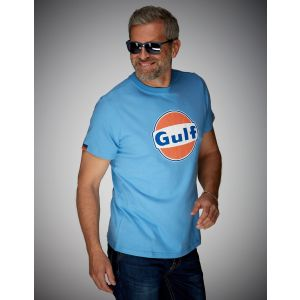 Gulf T-Shirt Dry-T blu cobalto