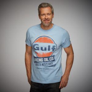 Gulf T-Shirt Oil Racing bleu Gulf