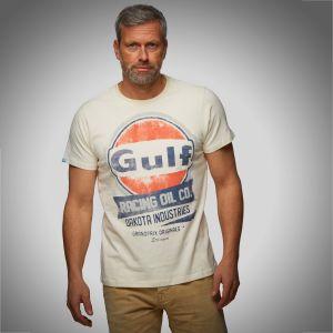 Gulf T-shirt Oil Racing crème