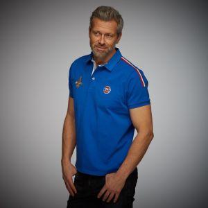 Gulf Rugby Poloshirt blau