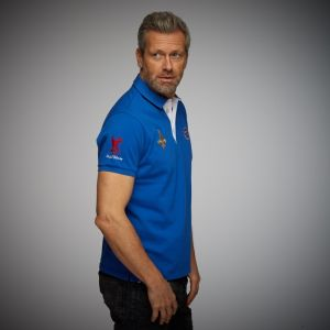 Gulf Rugby Polo bleu