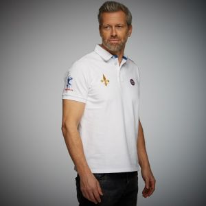 Gulf Rugby Polo blanco