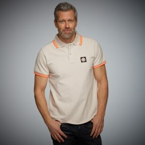 Gulf Summer Poloshirt stucco