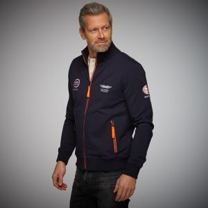 Gulf Sweatjacket Smart Racing navy blue