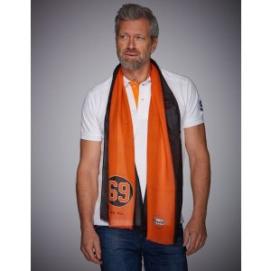 Gulf Foulard 69 Noir et Orange