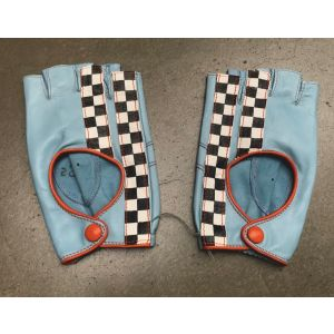 Gulf Racing Guantes azul gulf