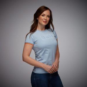Gulf 3D T-Shirt Damen gulf blau